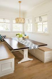 white brown colors kitchen breakfast. Table Colors White Brown ComboBreakfast Nook With Oak Hardwood Floor And Kitchen Breakfast E