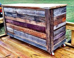 Barnwood Bar mobile reclaimed barnwood bar that is cooler than restoration 2568 by xevi.us