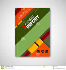 brochure front page template material design stock vector brochure front page template material design