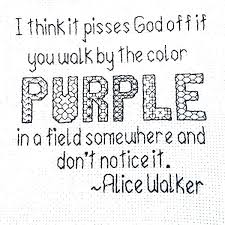 Purple Quotes Interesting Quotes From The Color Purple Book With Page Numbers The Color Purple