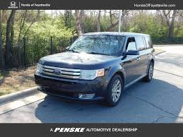 2009 Used Ford Flex 4dr SEL FWD at Chevrolet of Fayetteville ...