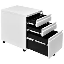 home office drawers. Unique Home Costway White 3 Drawers Rolling Mobile File Pedestal Storage Cabinet Steel Home  Office 0 Inside Home Office Drawers L