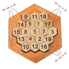 Wooden Games For Adults Wooden Number Puzzles Game Classic Adults Kid Brain Teaser 85