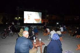 Elazığ'da açık havada sinema etkinliği - Elazığ