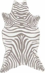 zebra shaped casual gray area rugs gray white