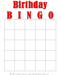 Excel Bingo Template Birthday Bingo Cards Card Freeware Game Template Excel Images Of