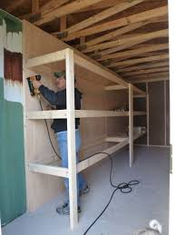 How to build a shelf unit Pine Our Shelf Units Are Up Mike And Lisas World Mike And Lisas World Chapter 130how To Build Mega Shelves