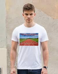 Adults Unisex Track Field Tech T Shirt