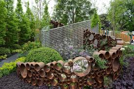 Decor of Unusual Garden Decor Unique Garden Ideas For Different Impression  Actual Home
