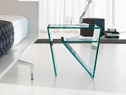 Italian glass furniture Luxury Bedside Tables Zen Nella Vetrina Nella Vetrina Tonelli Zen Contemporary Italian Designer Bedside Table