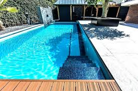 swimming pool waterline glass tiles tile designs ideas