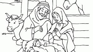 Jesus Birthday Coloring Pages Coloring Pages Of Jesus Birth Story