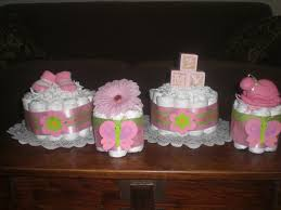Baby Shower Centerpieces Homemade Baby Shower Centerpieces Pink And Green Baby Shower