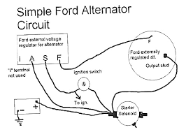 alternator circuit wiring diagram wiring diagram 2018 One Wire Alternator Diagram Schematics ford alternator wiring diagram fine bright elektronik us gm alternator wiring diagram john deere alternator wiring diagram
