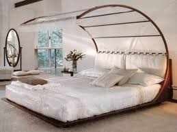 Image Of Wood Canopy Bed Frame Queen Ideas Bedroom Pinterest ...