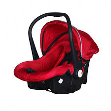 carrier car seat. perreno baby car seat / carrier (red) d