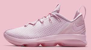 lebron pink. nike lebron 14 low pink release date profile 878635-600 lebron