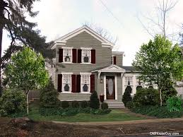 exterior house color combination. exterior paint color schemes traditional with antique house paint1 combination r