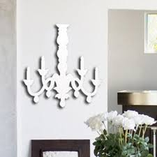 chandelier 3d wall art sticker plastic acrylic room decal decor