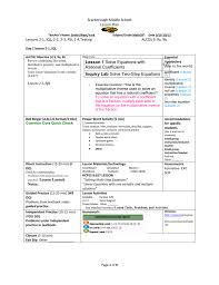 Coefficient Frayer Model Scarborough Middle School Lesson Plan Teacher S Name Smith