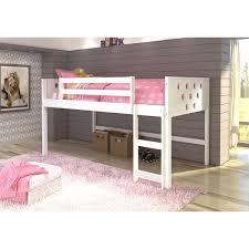kids bunk bed. Donco Kids Circles Low Loft Twin Bed Bunk
