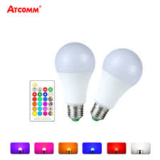Light Bulb Levels Us 3 03 24 Off Ampoule Led E27 Rgb Rgbw Led Bulb 85 265v 5 Levels Dimmable E27 Globe Bubble Lamp A50 A60 Spotlight With 24 Key Rgbw Controller In