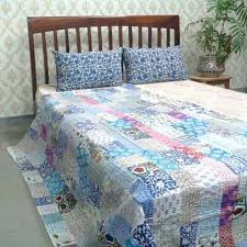 throw twin size patchwork quilted quilt handmade image 0 twin patchwork quilt