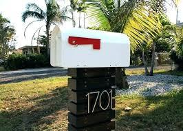 cool mailbox post ideas. Perfect Post Mailbox Post Ideas Modern  7 Designs   On Cool Mailbox Post Ideas