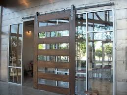 sliding barn doors glass panel sliding barn doors
