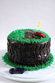 Allens Tire Birthday Cake Eat Something Delicious