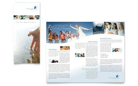 Christian Ministry Tri Fold Brochure Template Word Publisher