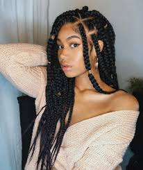 Light Red Box Braids 10 Box Braids On Natural Hair Plus How To Care For Them