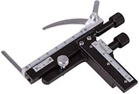 <b>Levenhuk MS3</b> Attachable Mechanical Scale for Microscopes ...