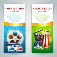 Realistic Cinema Movie Poster Template With Film Reel, Clapper ...