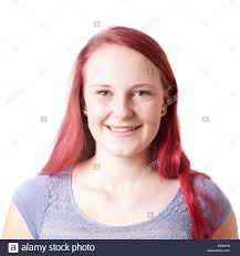 Facial teen redhead kneels for