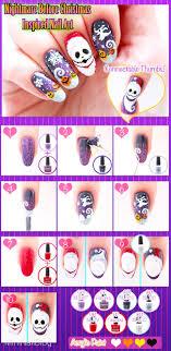 Nightmare Before Christmas Nails | nailbees