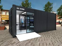 container office design. exhibition design u0026 hdri rendering for the ben shermanu0027s container shop office