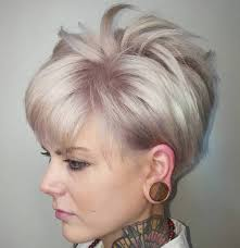 in addition Best 25  Very short haircuts ideas on Pinterest   Super short besides 224 best Hairstyles   Pixie images on Pinterest   Hairstyles moreover 20 Short Spiky Hairstyles For Women   Short pixie hair  Pixie hair in addition  besides 40 Bold and Beautiful Short Spiky Haircuts for Women additionally 92 best Short   Spiky For 50  images on Pinterest   Hairstyles also 30 Spiky Brief Haircuts   6  Short Spiky Hairstyle with Dyed Bangs in addition Pixie Haircuts – Page 2 – Haircuts and hairstyles for 2017 hair additionally 20 Pixie Haircuts for Thick Hair additionally . on cute haircuts for women spiky texture
