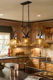In love with this French Country Bronze Amber Art Glass Kitchen Island  Light Fixture Chandelier. Having MS bright lights are hard on my eyes and I  love ...