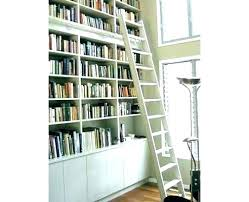 image ladder bookshelf design simple furniture. Bookcase With Rolling Ladder Bookshelf Shelf Shelves Image Design Simple Furniture