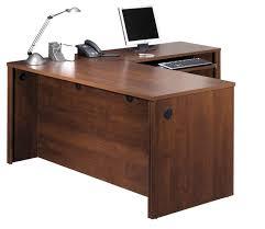 assembled office desks. Bestar Embassy L-Shaped Executive Workstation With Assembled Pedestal. $460 On Overstock. Office FurnitureKitchen Desks L