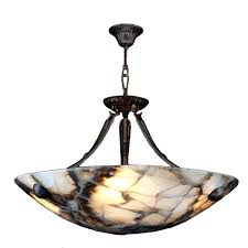 ceiling lights bowl ceiling light 5 brass finish natural quartz pendant emerson fans 3 fan