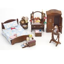 Sylvanian Families Bedroom Furniture Set Toys Sylvanian Families Deluxe Master Bedroom Set Cheekii