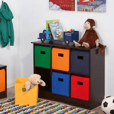 furniture toy storage. ECR4KIDS 3 Tier Toy Storage Organizer12 BinsBlueRedYellowGreen Hayneedle Furniture