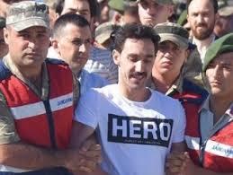 Erzurum'da 'Hero' tişörtü giyen 2 kişi gözaltında