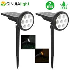 Led Solar Garden Spot Lights Us 26 8 35 Off 2pack Led Solar Lamp Spotlight Lawn Solar Light Waterproof Outdoor Security Landscape Led Lamp Garden Path Yard Spot Lights In Solar