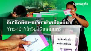 ผลการเลือกตั้งเทศบาล' 2564 ล่าสุด ทักษิณ-เนวิน พ่าย ก้าวหน้า เข้าวิน 12  เทศมนตรี