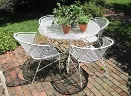 vintage wicker patio furniture. Image Of: Vintage Iron White Wicker Patio Furniture Sets
