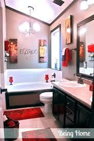 red and gray bathroom black and grey bathroom grey bathrooms decorating ideas black and yellow bathroom red and gray bathroom