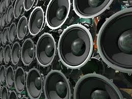 speakers art. speakers photograph - speaker wall right by sean welsby art 8